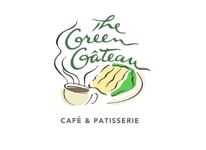 Logo for a bakery cafe in Lincoln, Nebraska.