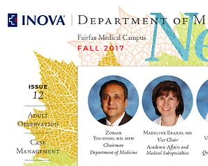 Inova Department of Medicine News
